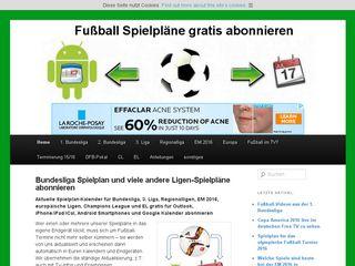fussball-spielplan.de