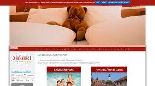 gaestehaus-zehmerhof.de