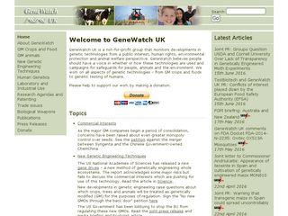 genewatch.org