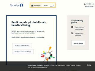 Preview of gjensidige.se