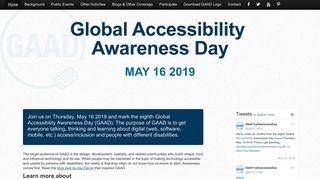 globalaccessibilityawarenessday.org