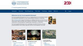 gluecksspiel.uni-hohenheim.de