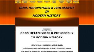godsmetaphysicsandphilosophyinmodernhistory.net