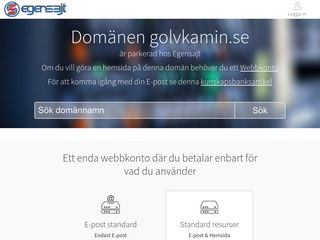 Earlier screenshot of golvkamin.se