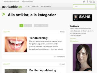 gothbarbie.se