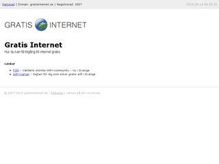 gratisinternet.se