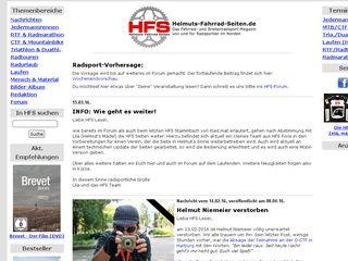 Earlier screenshot of helmuts-fahrrad-seiten.de