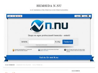 hemsida.n.nu