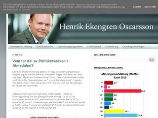 henrikoscarsson.com