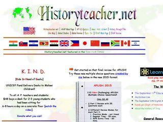 Preview of historyteacher.net
