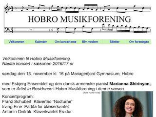 Earlier screenshot of hobromus.dk