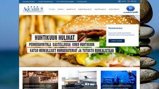 hotelliaquarius.fi