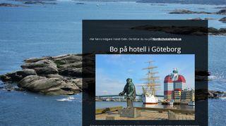 Earlier screenshot of hotelodin.se