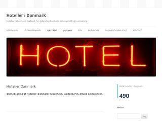 Earlier screenshot of hotels-in-denmark.dk