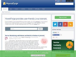 howtoforge com   Domainstats com