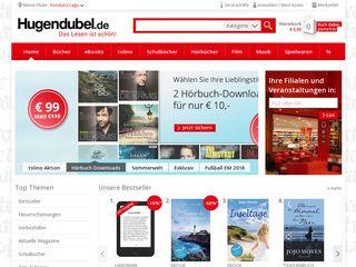 Preview of hugendubel.de