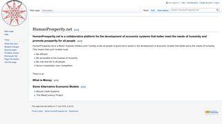 humanprosperity.net