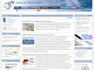 Preview of ifw-kiel.de
