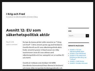 ikrigochfred.se