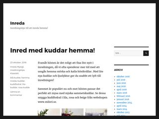 Earlier screenshot of inreda.org