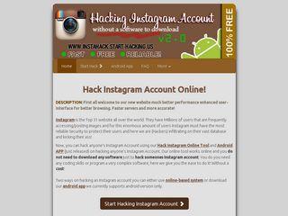 instahacker net | Domainstats com