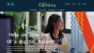 instituteofcoding.org