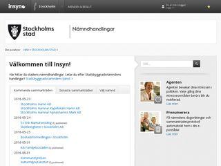 insyn.stockholm.se