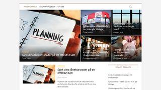 Earlier screenshot of investeramer.se
