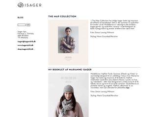 Earlier screenshot of isagerblog.dk