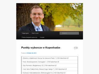 Earlier screenshot of jakobdabrowski.dk