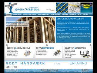 Earlier screenshot of jsviborg.dk