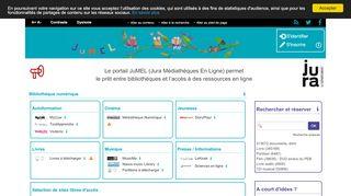 Earlier screenshot of jumel39.fr