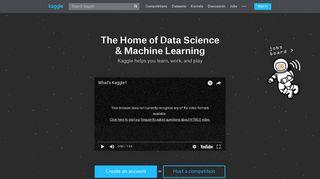 kaggle com | Domainstats com