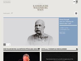 Preview of kaiserliche-wagenburg.at