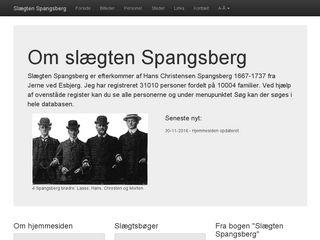 Earlier screenshot of kajj.dk