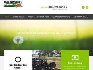 Earlier screenshot of kalmarstubbfrasning.se