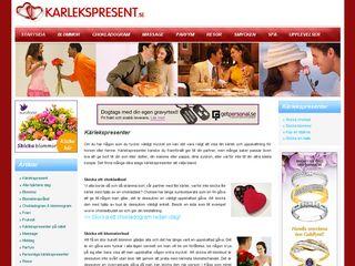 karlekspresent.se
