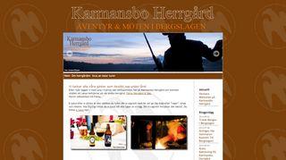 Earlier screenshot of karmansboherrgard.se