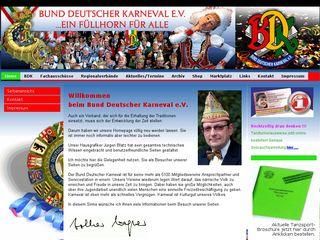 Preview of karnevaldeutschland.de