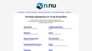 Earlier screenshot of katalog.n.nu