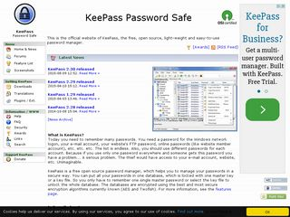 keepass info | Domainstats com