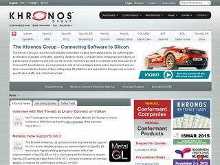 khronos org | Domainstats com