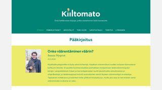 kiiltomato.net