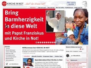 Preview of kirche-in-not.de