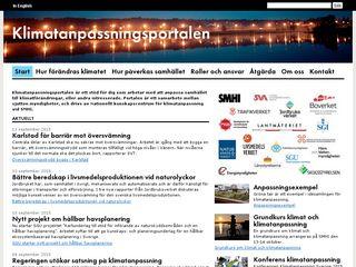 klimatanpassning.se