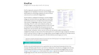 knuff.se