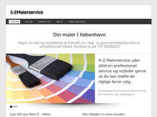 Earlier screenshot of koebenhavnmalerfirma.dk