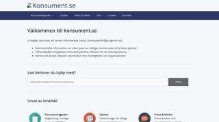 konsument.se