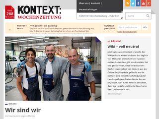 kontextwochenzeitung.de