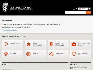 kriseinfo.no